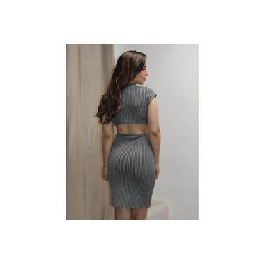 Vestido Limone Modas aberto cintura Prata