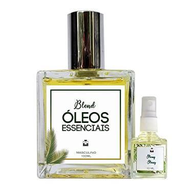 Imagem de Perfume Erva Cidreira & Laranja Amarga 100ml Masculino - Blend de Óleo Essencial Natural + Perfume de presente