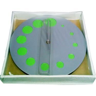 Relógio de Parede 25 cm 9847 Verde