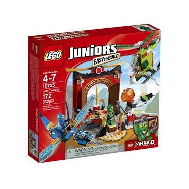 Lego Juniors - Ninjago O Templo Perdido - 10725