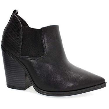 Bota Ankle Boot Ramarim Feminina Preta 34