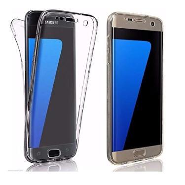 Capa Antishock Premium 360 Frente e Verso Samsung Galaxy S7 FLAT
