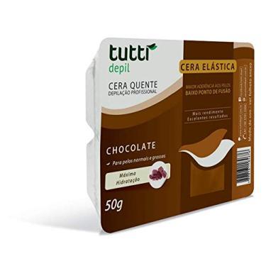 Imagem de Cera Depilatória Chocolate, Tutti Depil, 1138, Marrom