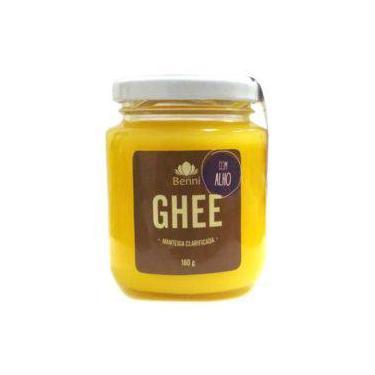 Ghee Com Alho - Manteiga Clarificada Sem Lactose - Benni 200g