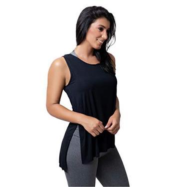 Blusa Feminina Sobre Legging Moda Fitness Academia e Ginástica (M)