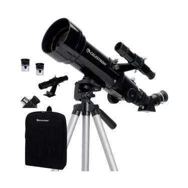 Imagem de Telescópio Refrator Portátil Celestron Travel Scope 70 com Tripé e Mochila - 21035
