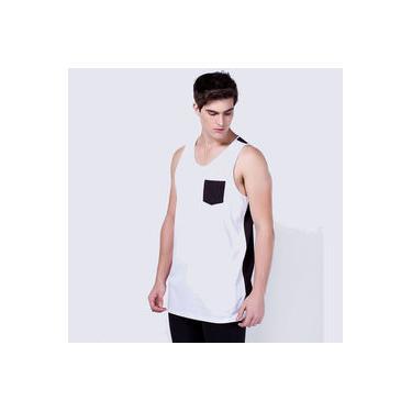Camiseta Regata Com Bolso Swag Oversized Stecchi