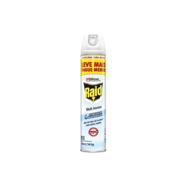 Inseticida Aerossol Raid Multi-Insetos Aqua Protection 420ml