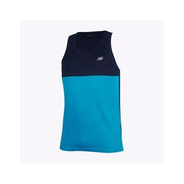 Regata New Balance Performance Recorte | Masculino Azul - GG