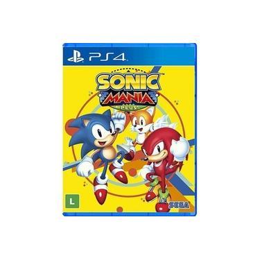 Game Sonic Mania Plus - PS4