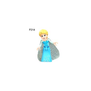 Imagem de Bluelans Disney Princess Mermaid Minifigure diy Building Blocks Kids Toy Gift Para Lego