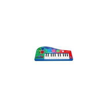 Imagem de Brinquedo Infantil Instrumento Musical Teclado Pj Masks Candide