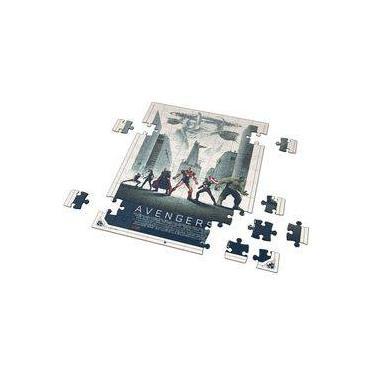 Imagem de Quebra-Cabeça Personalizado 90 Peças - 30 cm x 20 cm Os Vingadores (BD31)