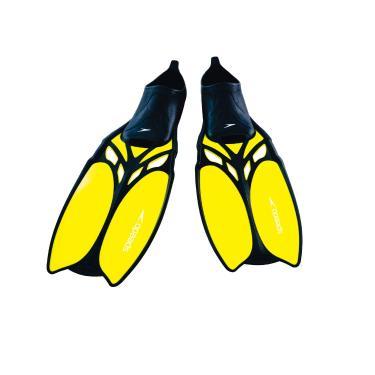 Laguna Fin Speedo UNISSEX PP Amarelo Limão