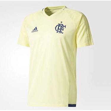 Camisa Flamengo Adidas 17 Treino - Torcedor Masculina AZ5425 (P)