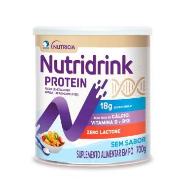 Nutridrink Protein Sem Sabor Suplemento Alimentar com 700g Danone 700g
