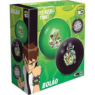 Bolão Infantil em Vinil Ben 10 Preto 2164 - Lider brinquedos