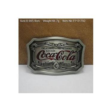 Fivela Para Cinto Coca Cola Retrô