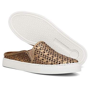 Sapato Feminino Mule Babuche 26300L.A (33, ONÇA)