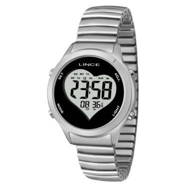 e76104fb491d9 Relógio de Pulso Aço Lux Golden    Joalheria   Comparar preço de ...