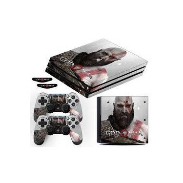 Adesivo Skin PS4 Pro Kratos God Of War 4