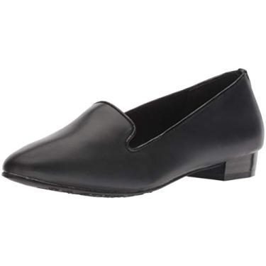 Mocassim feminino Charmy Soft Style, Black Vitello, 8.5 Narrow