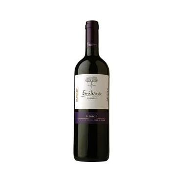 Vinho Chileno Merlot Tinto Garrafa 750ml - Emiliana