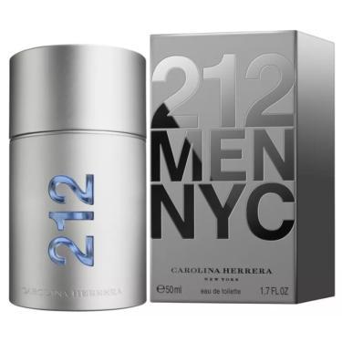 a01f857b0082f Perfume Masculino 212 Men Carolina Herrera Eau de Toilette 50ml