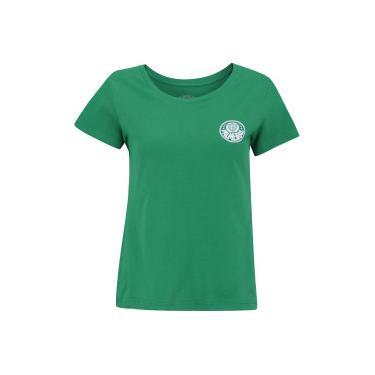 Camiseta do Palmeiras Escudo Meltex - Feminina - VERDE Meltex aaa2cff7f57d7