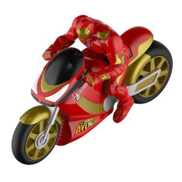 Imagem de Moto de Fricção Marvel Avengers Homem De Ferro - Toyng