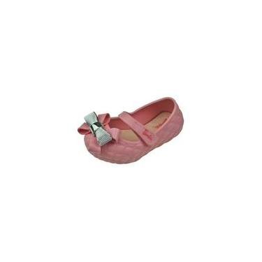 Sapatilha Boneca Baby com Laço Barbie - Rosa