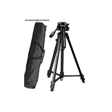 Imagem de Tripé Com Bag Para Câmeras Nikon Canon Sony 1,70m Suporta 2,75kg - TR-672A