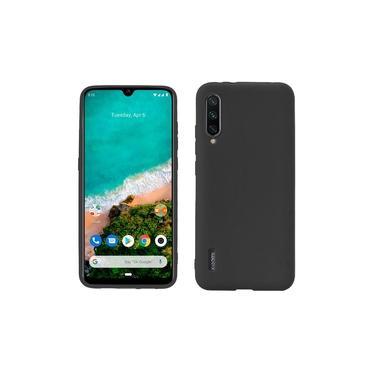 Capa Protetora TPU Emborrachada Para Smartphone Xiaomi Mi A3