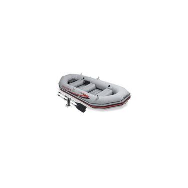 Bote Inflável Intex Mariner 4 c/ Par Remos Bomba Barco Pesca