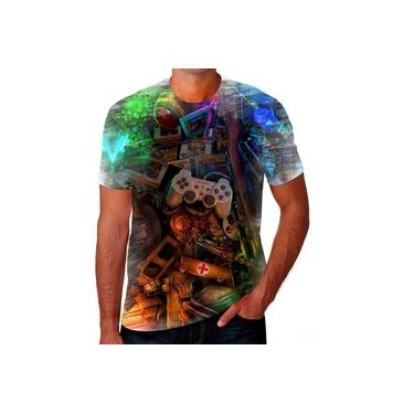 Camiseta Camisa Game Controle X Box Playstation Ps4 Ps2 24