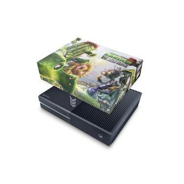 Capa Anti Poeira para Xbox One Fat - Plants Vs Zombies Garden Warfare