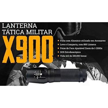 Lanterna X900 Original Shadowhaw Tática Militar Americana