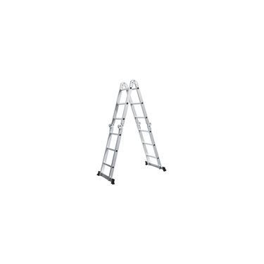 Escada de Alumínio Multifuncional 14 em 1 - 12 Degraus - D178805
