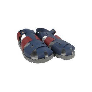 Sandália Masculina Finobel Azul