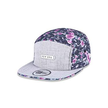 Bone Camper Branded Aba Curva Cinza/marron New Era