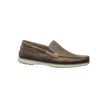 Sapato Pegada 141002-06 Mocassim Couro Masculino