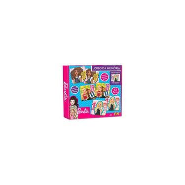Imagem de Jogo da Memória Barbie 24 Peças Fun - 86889