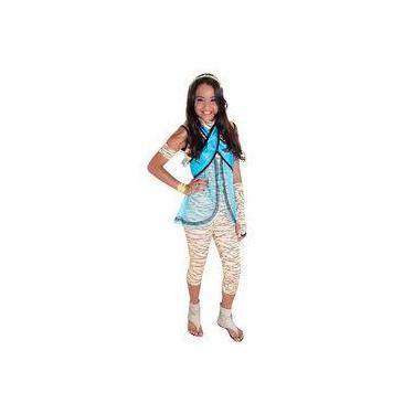 Imagem de Fantasia Cleo De Nile Luxo Monster High M - Sulamericana