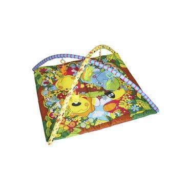 Imagem de Tapete de Atividades Bebe Infantil Musical Mobile 5 Brinquedos Interativo Importway BWTID-001