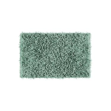 Imagem de Tapete De Banheiro Lavabo Retangular Vizapi Agra 50X80Cm Verde Acqua