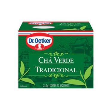 Chá Verde Com Menta Dr. Oetker Kit Com 2 Caixas