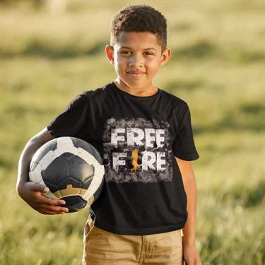 Camisa Camiseta Free Fire Infantil Juvenil 20 (14)