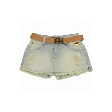 Shorts Saia Jeans Ana Hickmann Low Ah115