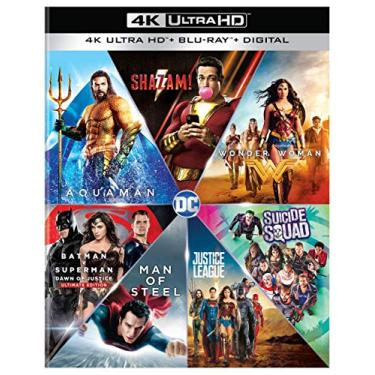 DC 7 Film Collection (4K Ultra HD + Blu-ray + Digital)
