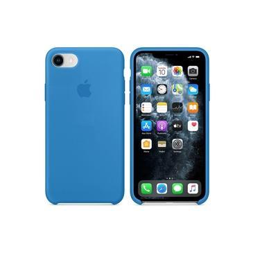 Capa Iphone 7/8 Plus Case Silicone Avelulado - Azul